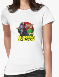 TWO BEST FRIENDS Womens Fitted T-Shirt
