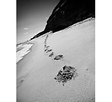 Small Steps Come First Photographic Print