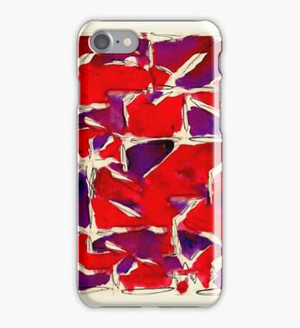 Inky Pattern Thing iPhone Case/Skin