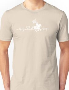drill flag rider in white Unisex T-Shirt