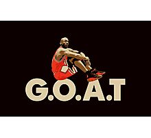 The G.O.A.T Photographic Print