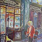 Florian Cafe Piazza San Marco 2 by Virginia  Coghill