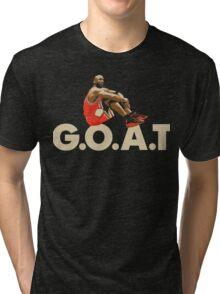 The G.O.A.T Tri-blend T-Shirt