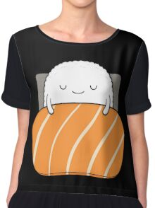 sleepy sushi bed Chiffon Top