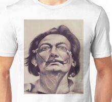 Salvador Dali Portrait Unisex T-Shirt