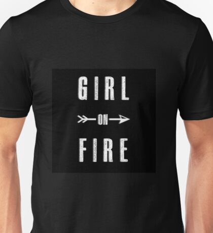 Girl on Fire Unisex T-Shirt