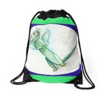 Lil' Lava Lizard Drawstring Bag