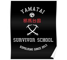Yamatai Survivor School (White) Poster