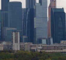 Moscow Skyline Sticker