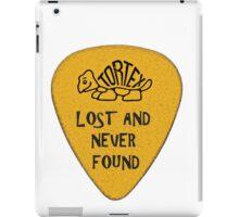 Lost Guitar Pick Mustard iPad Case/Skin