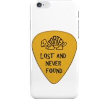 Lost Guitar Pick Mustard iPhone Case/Skin