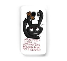 Hannibal - Sometimes living is difficult Samsung Galaxy Case/Skin