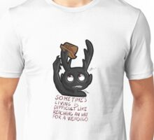 Hannibal - Sometimes living is difficult Unisex T-Shirt