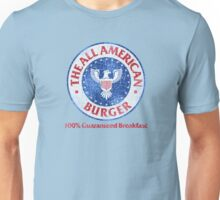 The All American Burger Unisex T-Shirt