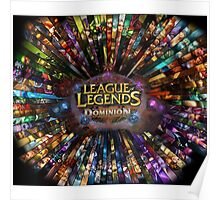 League of Legends Dominion Poster