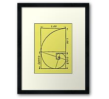 The Golden Spiral Framed Print