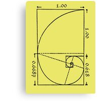 The Golden Spiral Canvas Print