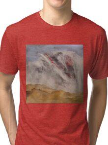 between sky and desert Tri-blend T-Shirt