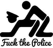 Fuck The Police Photographic Print