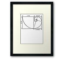 The Golden Rectangle Framed Print