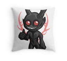 Wendigo Approves Throw Pillow