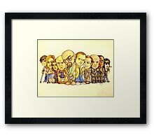 Remember My Name Framed Print