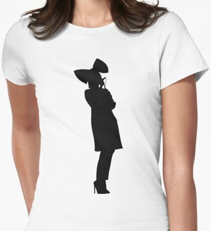 I am still breathing Womens Fitted T-Shirt