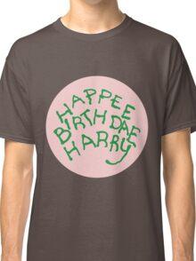 Happee Birthdae Harry - Circle Classic T-Shirt