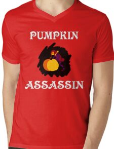 Pumpkin Assassin Mens V-Neck T-Shirt