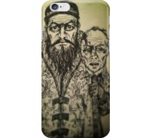Ivan the Terrible ink drawing iPhone Case/Skin