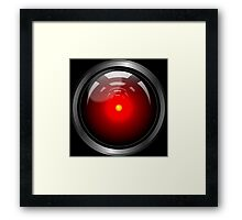 Hal 9000 (updated) Framed Print