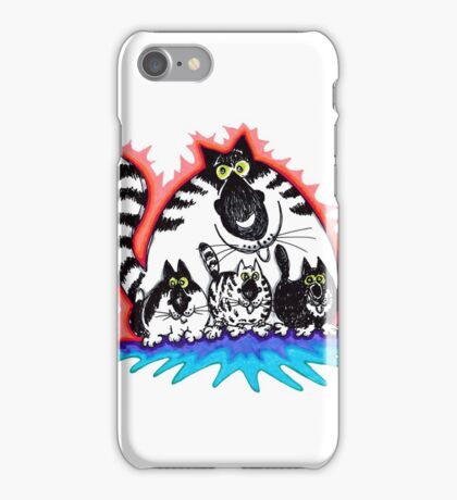Nosey Family iPhone Case/Skin