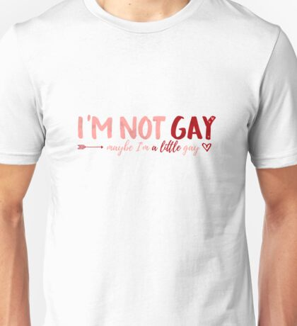 A Little Gay Unisex T-Shirt