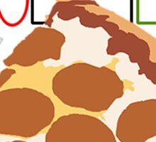 Prizza- For Your Health! Sticker