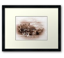 Times Gone By Framed Print