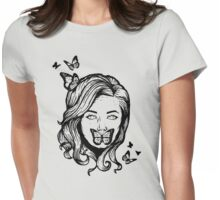 Voiceless Beauty Womens Fitted T-Shirt