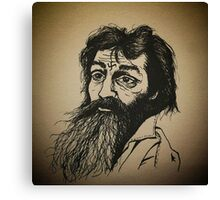 Charles Manson ink drawing Canvas Print