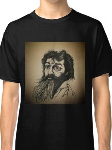 Charles Manson ink drawing Classic T-Shirt