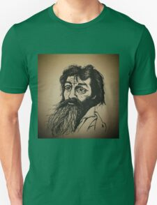 Charles Manson ink drawing Unisex T-Shirt