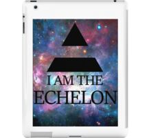 I AM THE ECHELON GALAXY iPad Case/Skin