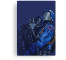 Cobra commander Canvas Print