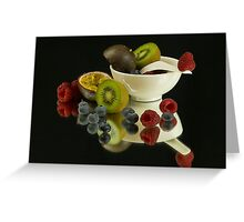 Fruit Overboard Greeting Card