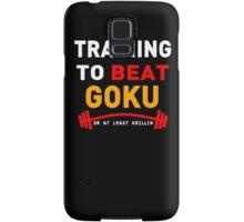 Training to beat goku - at least krillin  Samsung Galaxy Case/Skin
