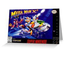 Mega Man X2 Greeting Card