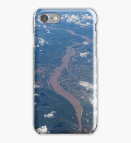 Mekong River forming the border between Thailand  iPhone Case/Skin