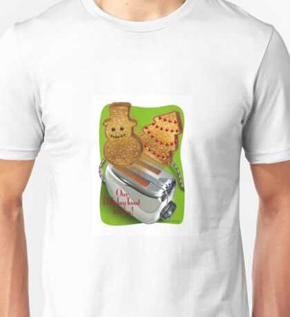 A Toast for Christmas! Unisex T-Shirt