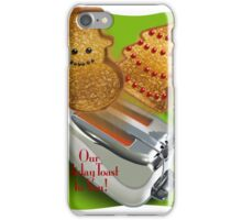 A Toast for Christmas! iPhone Case/Skin
