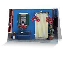 Colors of Burano Greeting Card
