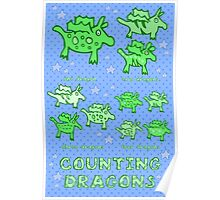 Nits for Kids - Counting Dragons Poster