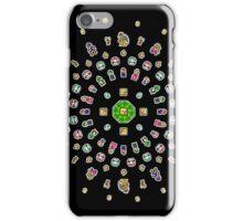 8-Bit Mario Mandala iPhone Case/Skin